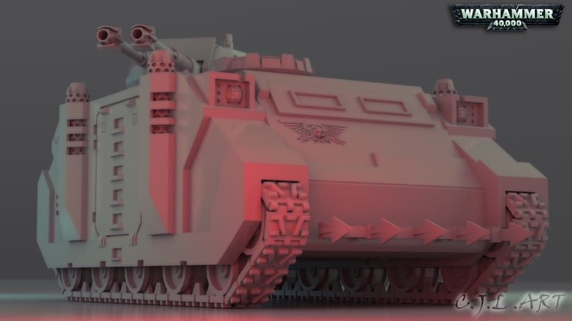 Rhino Warhammer 40k 2