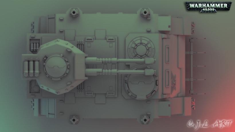 Rhino Warhammer 40k 0