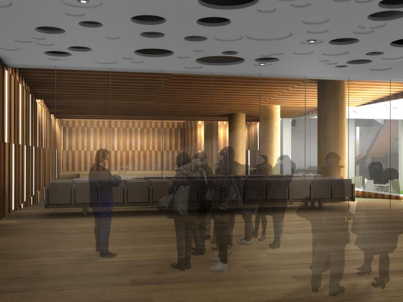 Concurso colegio de arquitectos madrid domestika - Arquitectos interioristas madrid ...