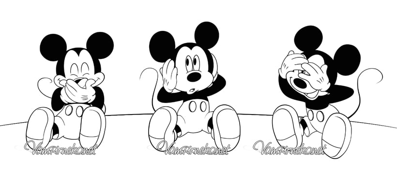 Three Wise Mickey 2