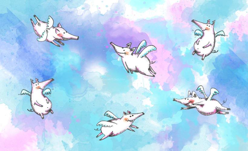 los cerdos también vuelan 0