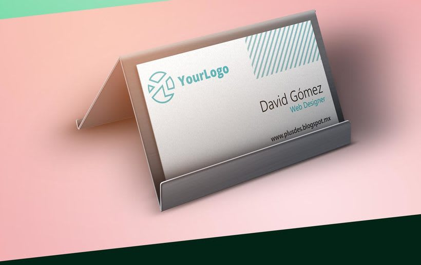 Free Business Card mockup 1
