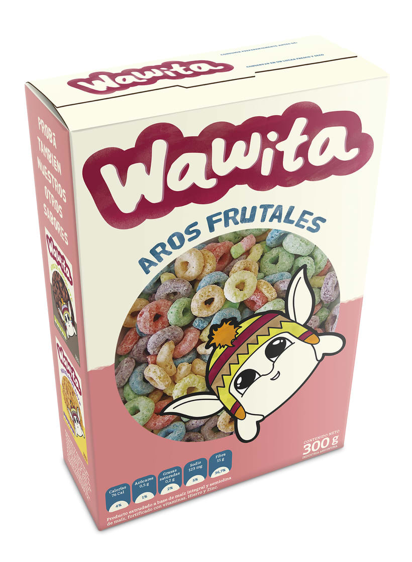 Packaging - Cajas de cereales Wawita 0