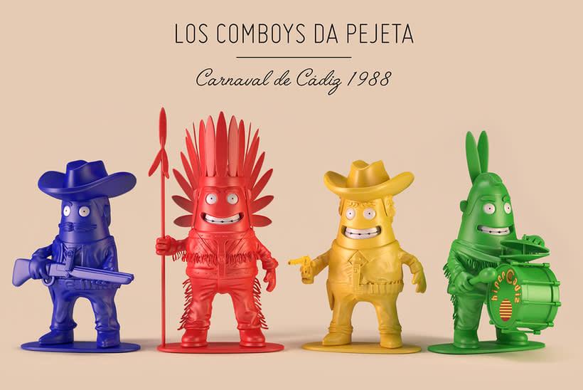 Chirigotoys, Los Comboys da Pejeta 1