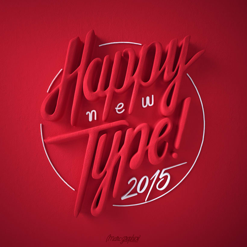 Happy New Type 2015 0