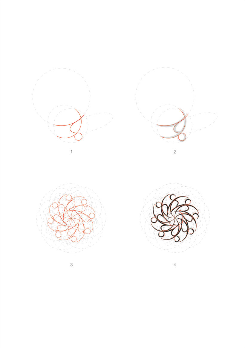 Logo para estudio de danza oriental 2