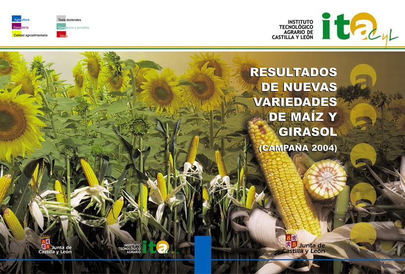 ITACyL: Plan editorial del Dpto. de I+ D (2004-2008) 1