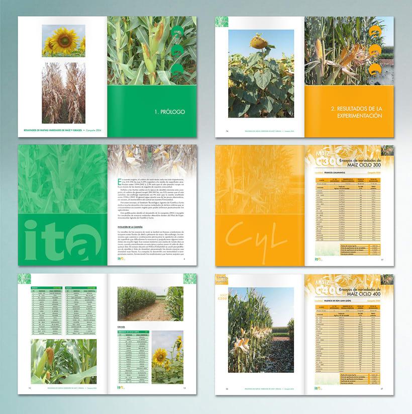 ITACyL: Plan editorial del Dpto. de I+ D (2004-2008) 3