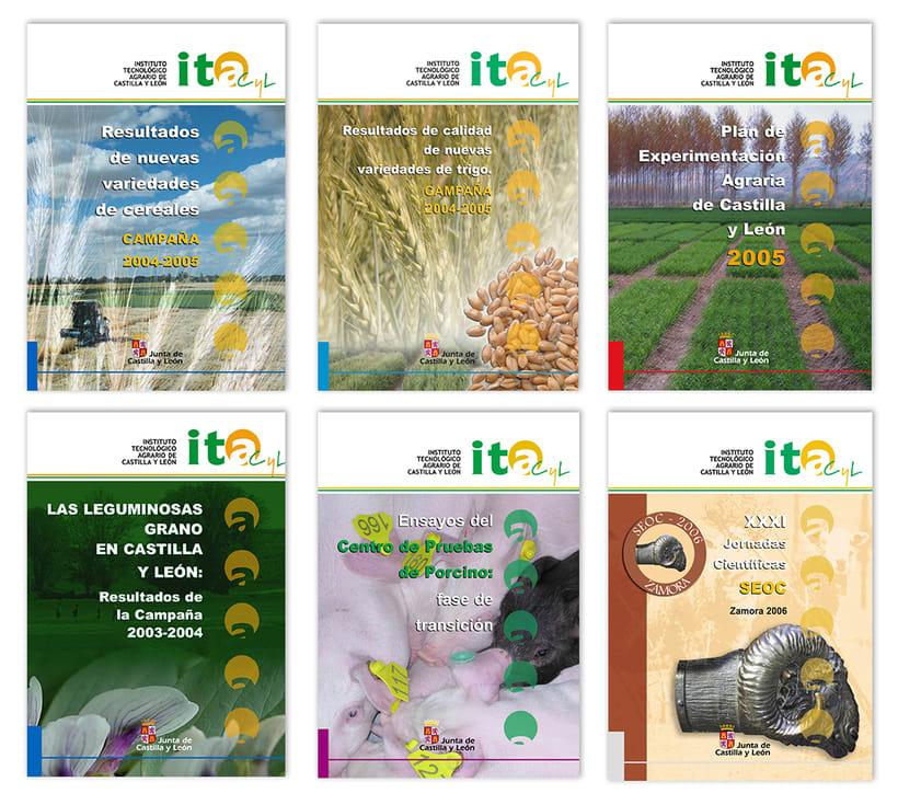 ITACyL: Plan editorial del Dpto. de I+ D (2004-2008) 6