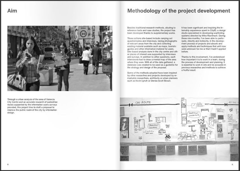 Dissertation project - Valencia Legible City, A wayfinding study 4