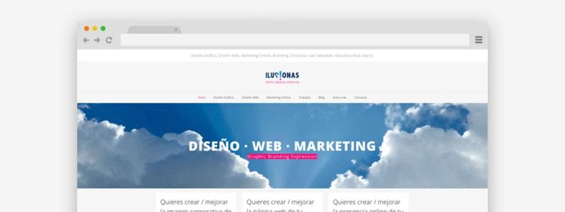 Renovación de la web de ILUSIONAS -1
