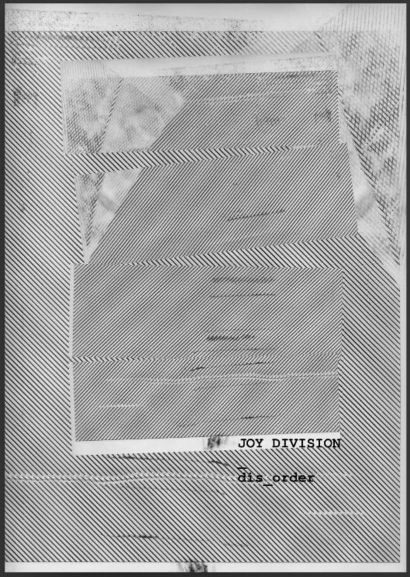 FANZINE - DISORDER - Joy Division -1