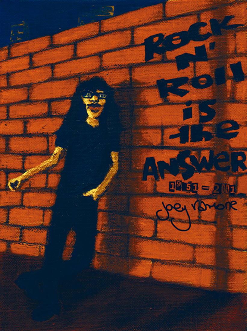 "Il·lustració color ""Rock'n'roll is the answer"" Curs d'Il·lustra una cançó de Marta Bellveí -1"