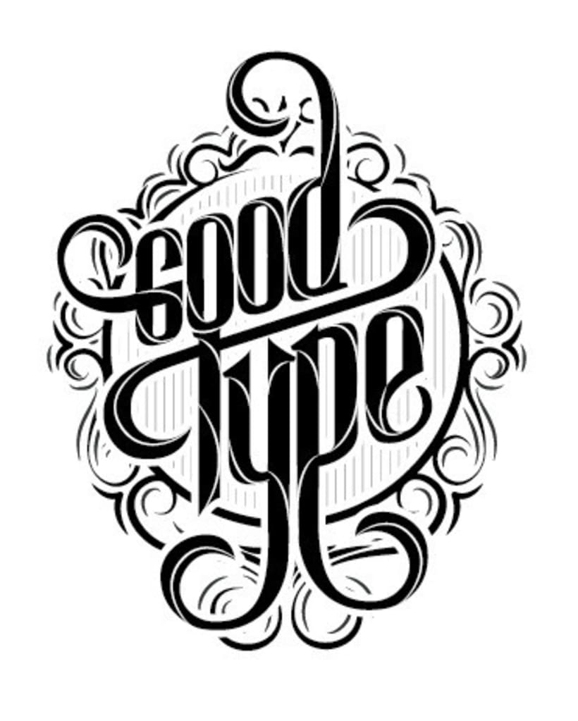 Proceso Lettering: Good Type  1