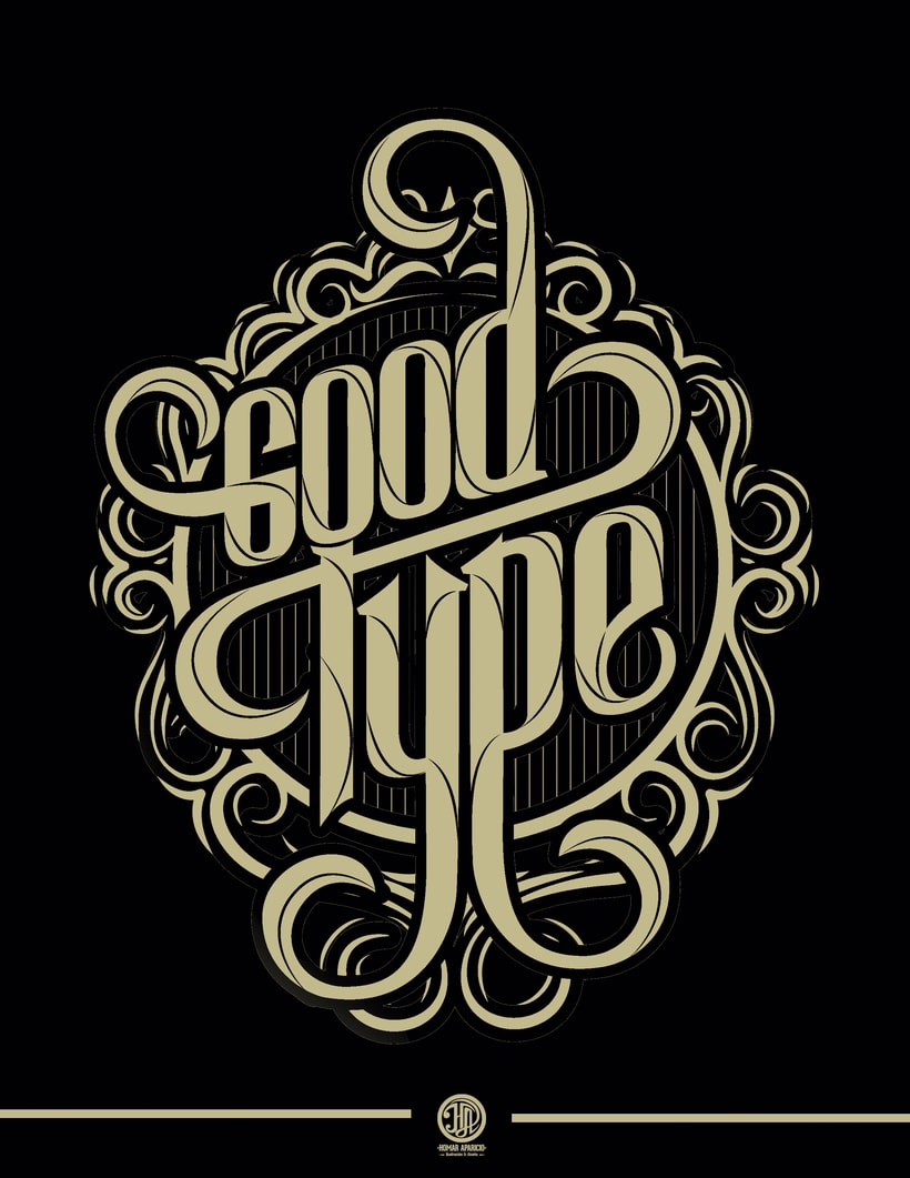 Proceso Lettering: Good Type  3