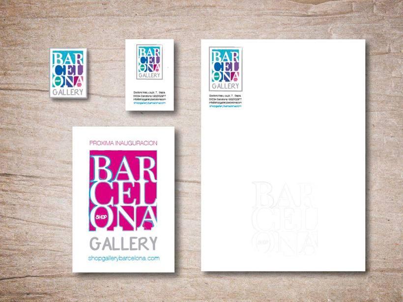 Proyecto para tienda Gallery shop barcelona -1
