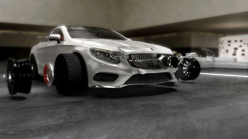 Mercedes S-Clase Coupé 6