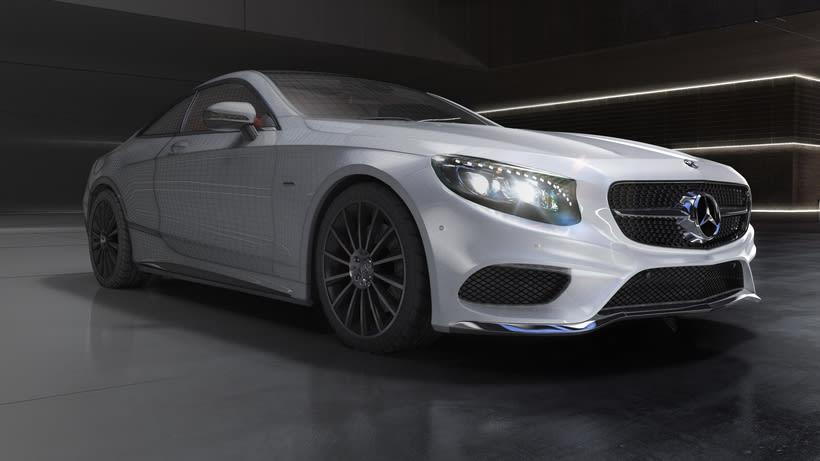 Mercedes S-Clase Coupé 2