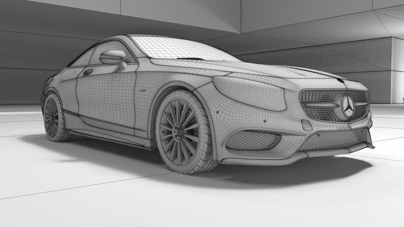Mercedes S-Clase Coupé 1