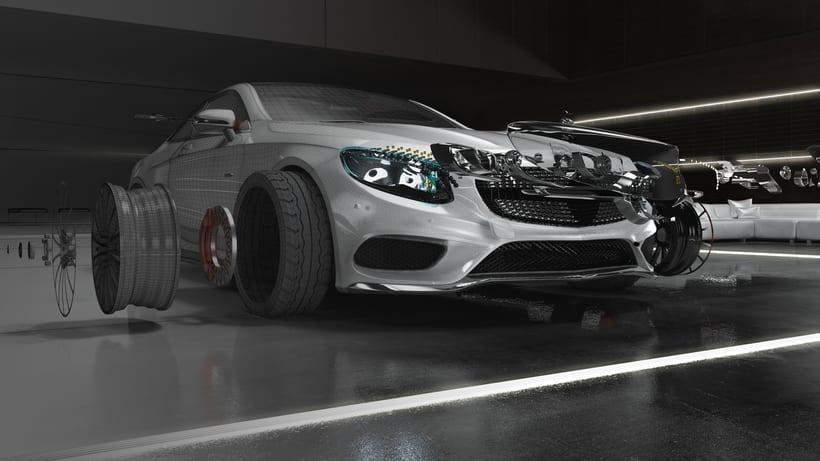 Mercedes S-Clase Coupé 4