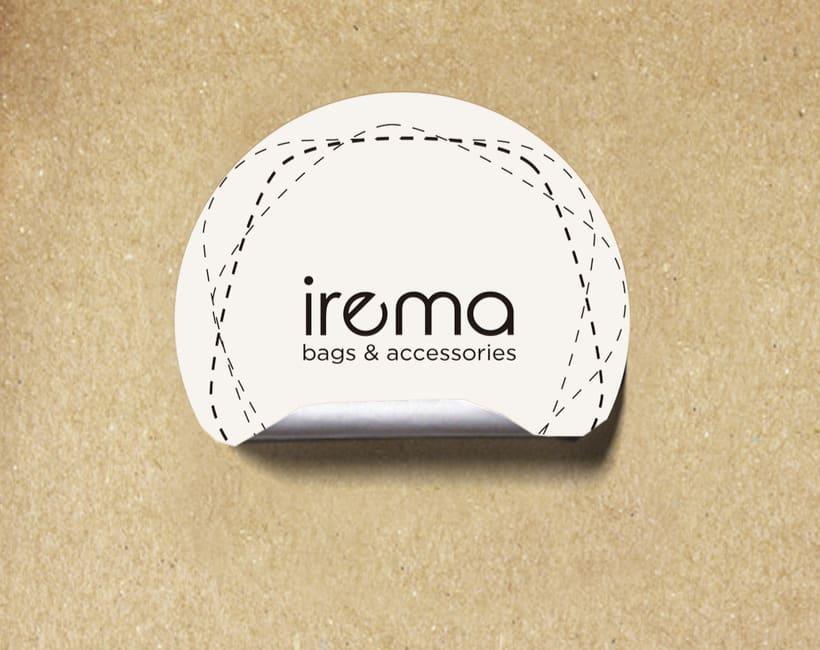 Diseño logotipo Irema 0