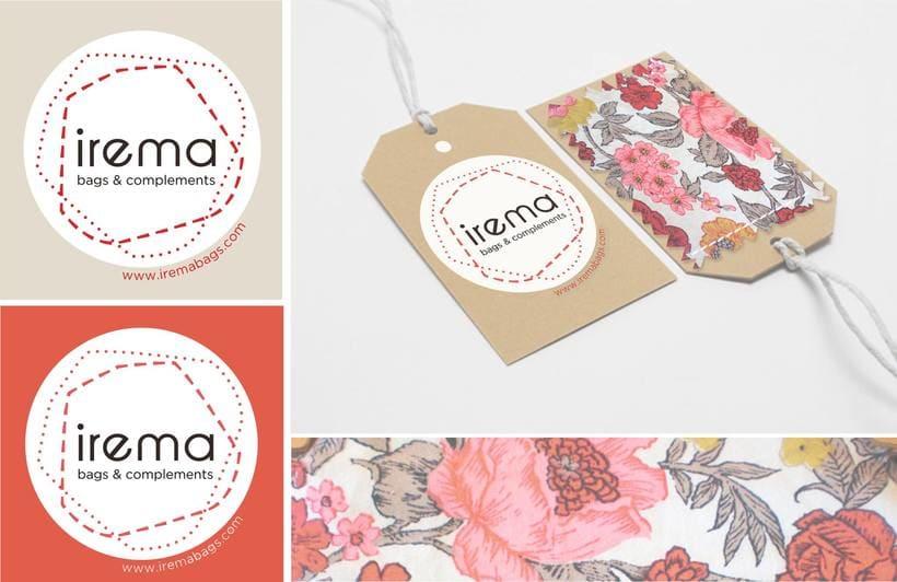 Diseño logotipo Irema 1
