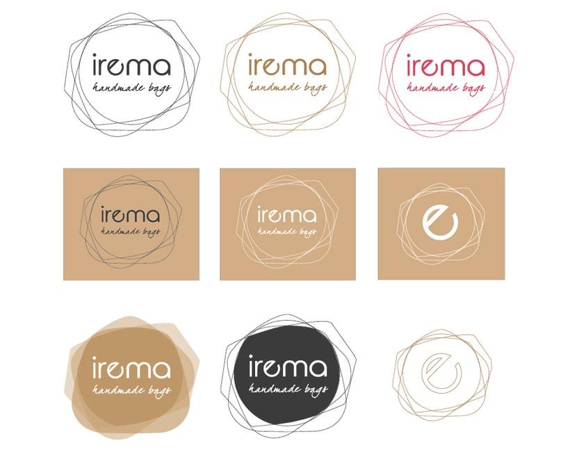 Diseño logotipo Irema 4