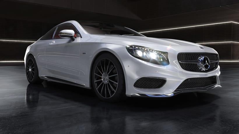 Mercedes S-Clase Coupé 3