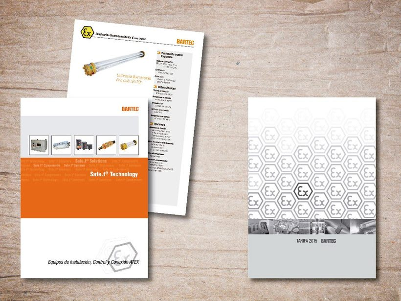 Catalogo de productos y tarifa general para Bartec -1
