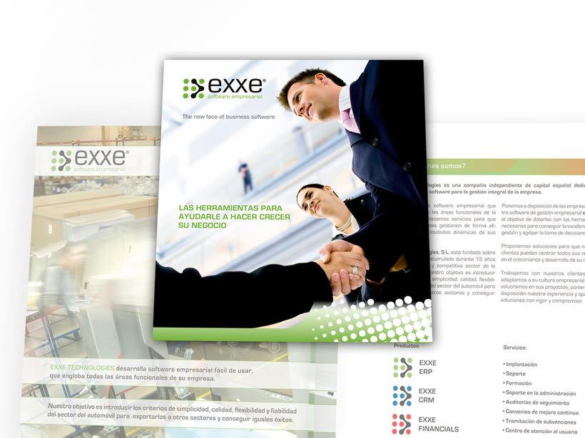 Catalogo corporativo para EXXE software intergral para empresas -1