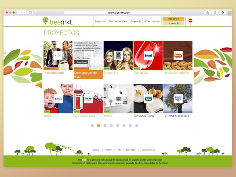 Rediseño de logo e imágen coorporativa para Treemkt. 4