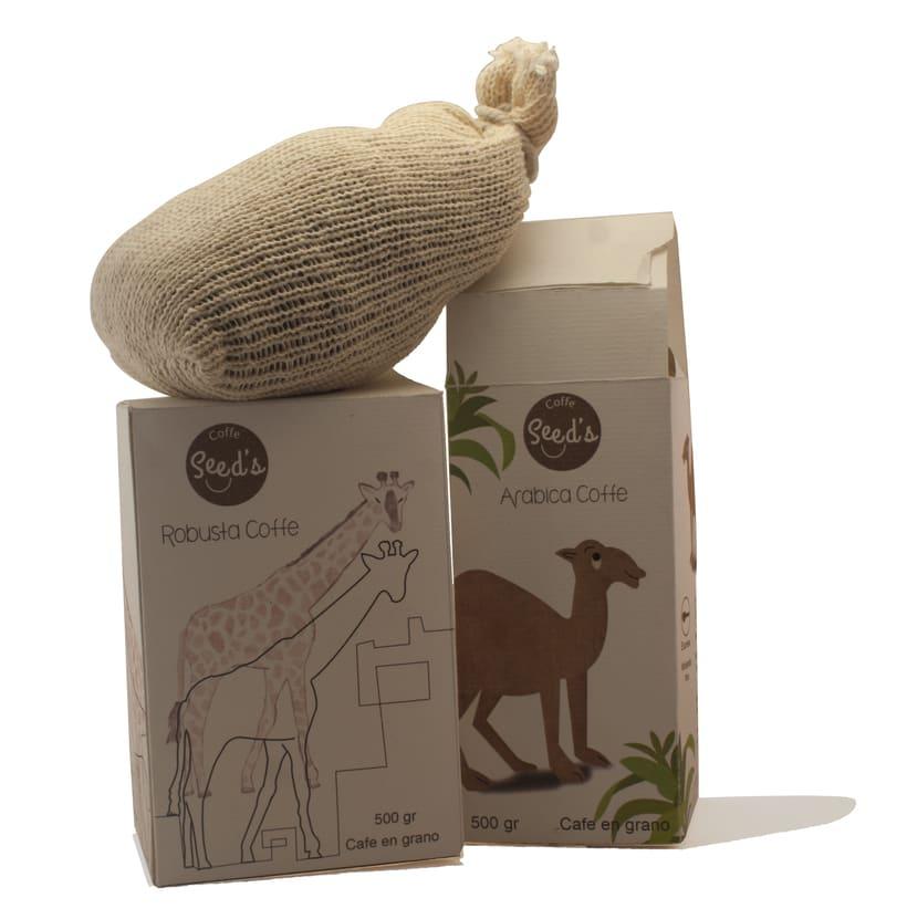 Packaging café arabica y robusta -1