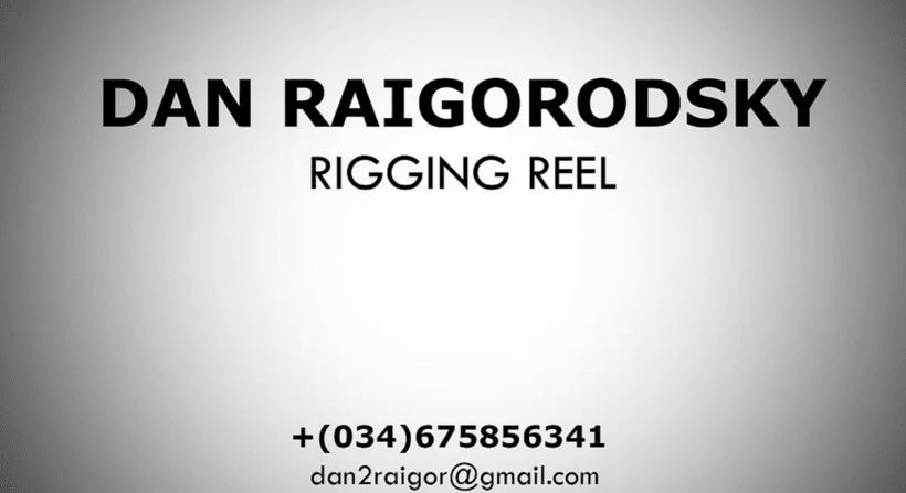 Rigging Reel 2015 - Dan Raigorodsky 0