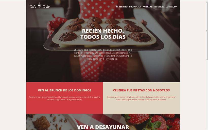 Café Oslo. Mi Proyecto del curso Introducción al Desarrollo Web Responsive con HTML y CSS 0