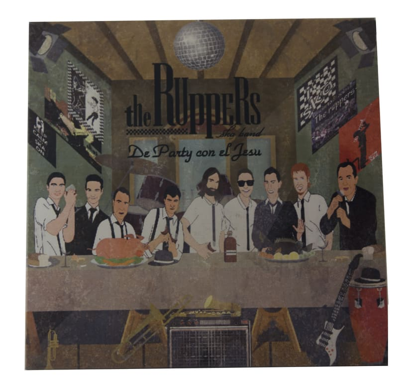 portada CD The ruppers ska band -1