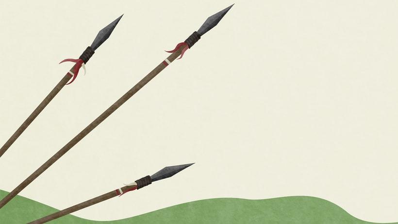 Ilustraciones Pirata pata de palo . Fábula infantil 2