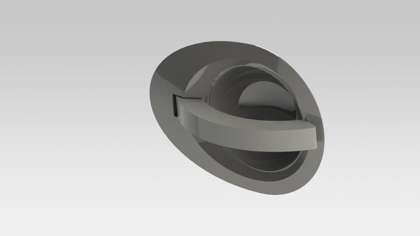 Desarrollo de manilla interior para concept car Niema 2