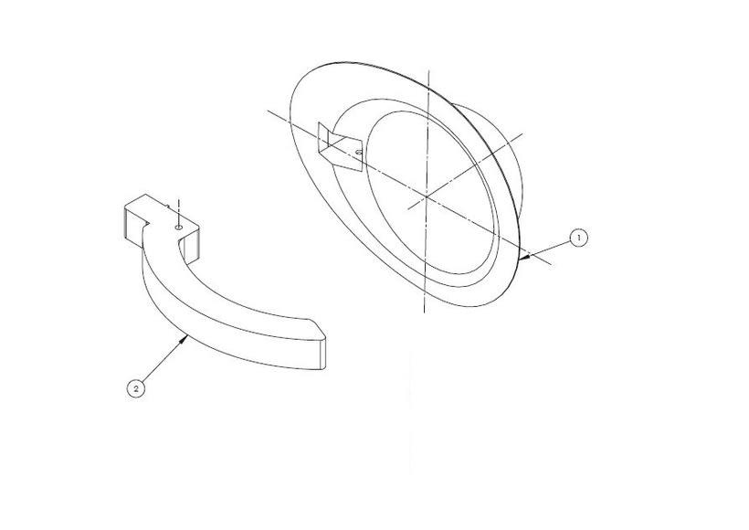 Desarrollo de manilla interior para concept car Niema 4