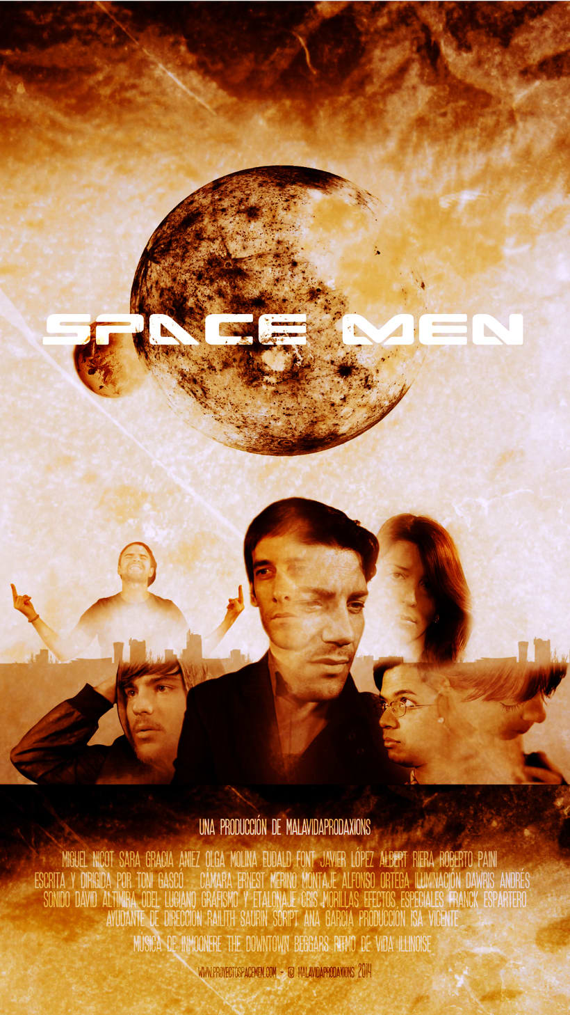 Poster Space Men  1