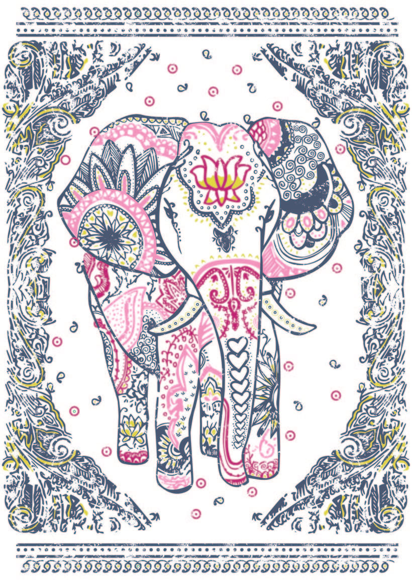 Diseño de estampas textiles 4