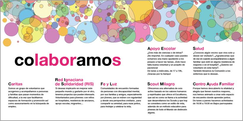 Diseño de Logotipo, Web y folletos - Parroquia El Milagro de San José 14