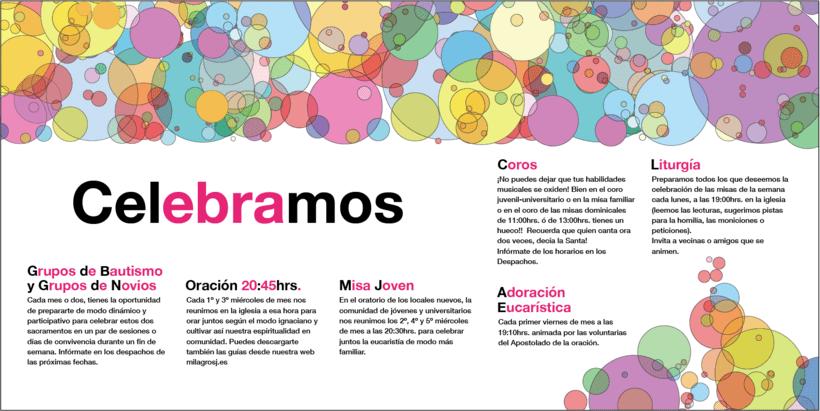 Diseño de Logotipo, Web y folletos - Parroquia El Milagro de San José 15
