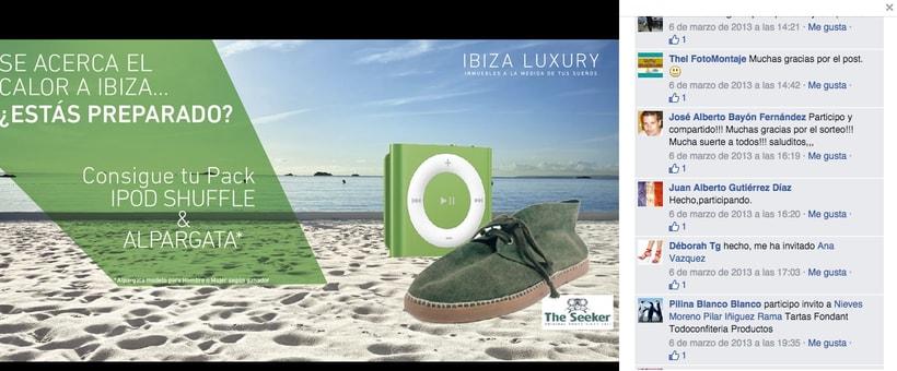Ibiza Luxury - Gestión de redes sociales en Facebook, Twitter, Instagram y A Small World así como comunicación con prensa. 3