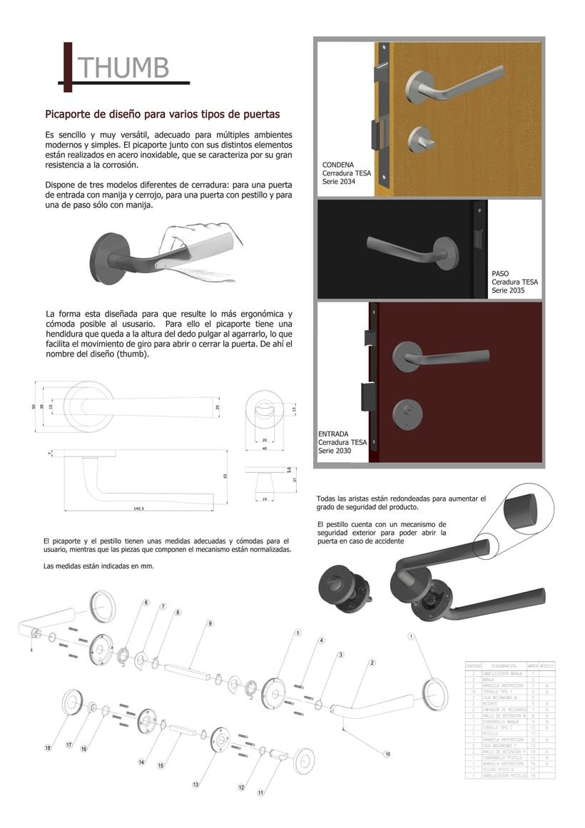 Diseño Picaporte 0