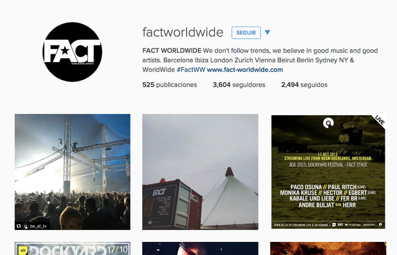 Instagram FACT WORLDWIDE 7
