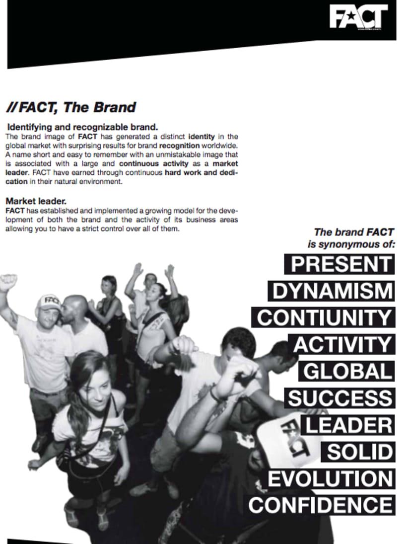 FACT WORLDWIDE Dossieres de comunicación en inglés y castellano 1