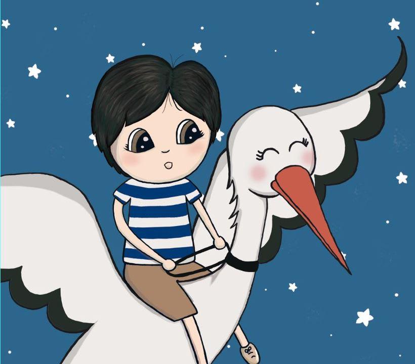 Ilustraciones cuento infantil personalizable 0