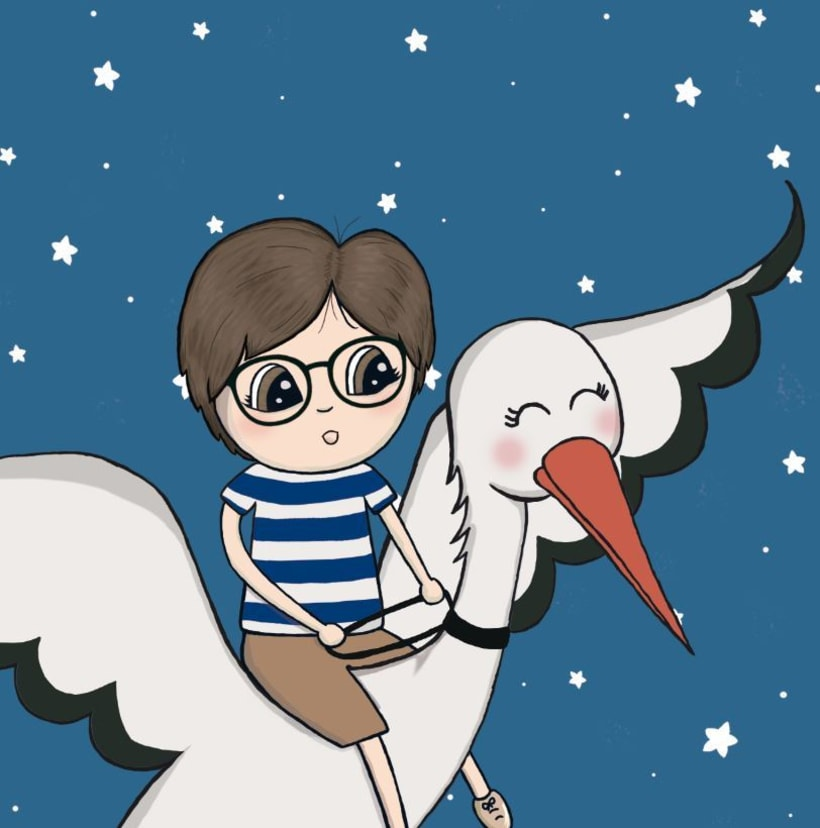Ilustraciones cuento infantil personalizable 1