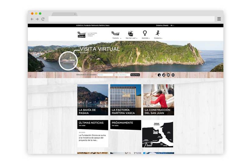 Web Albaola Factoría Marítima -1