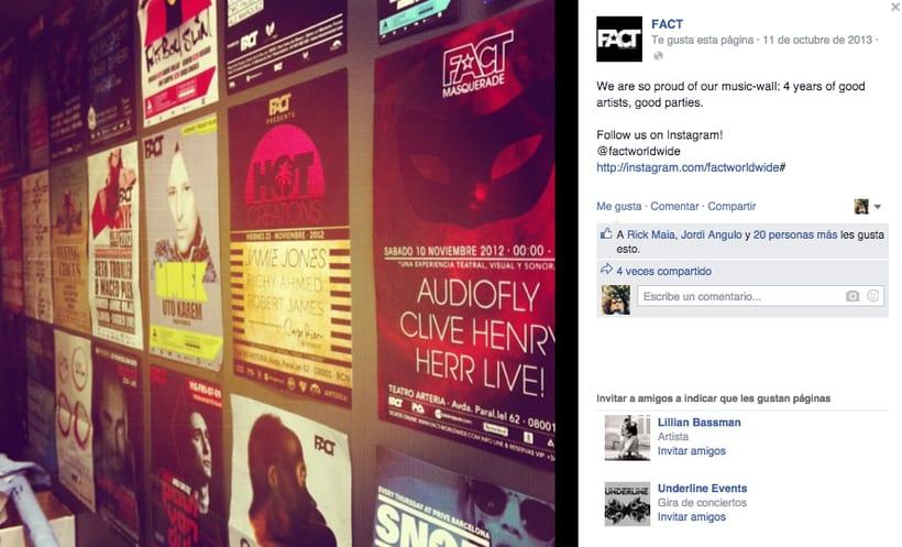 FACT WORLDWIDE - Gestión de sus páginas de Facebook: sorteos, posts, respuestas, campañas... 1